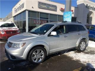 Used 2013 Dodge Journey R/T.7 Pass/DVD/Navi/Leather/Roof for sale in Burlington, ON