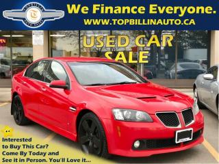 Used 2009 Pontiac G8 GT 6.0L V8, 2 YEARS WARRANTY for sale in Concord, ON