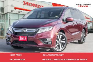 Used 2018 Honda Odyssey Touring for sale in Whitby, ON