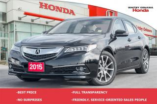 Used 2015 Acura TLX Elite for sale in Whitby, ON