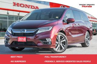 Used 2018 Honda Odyssey Touring | Automatic for sale in Whitby, ON