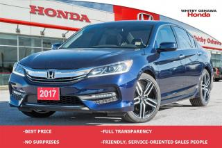 Used 2017 Honda Accord Sport w/Honda Sensing for sale in Whitby, ON