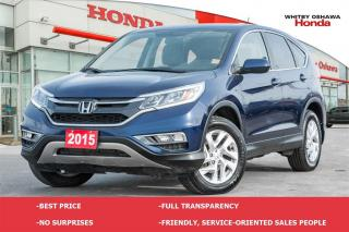 Used 2015 Honda CR-V EX | Automatic for sale in Whitby, ON