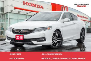 Used 2016 Honda Accord Touring | Manual for sale in Whitby, ON