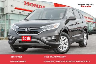 Used 2015 Honda CR-V EX-L | Automatic for sale in Whitby, ON