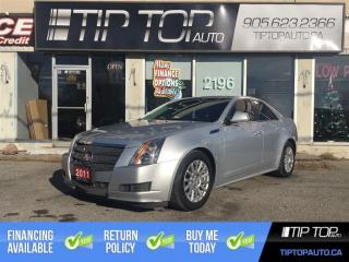 Used 2011 Cadillac CTS Leather ** Pano Sunroof, Remote Start, Full Leathe for sale in Bowmanville, ON