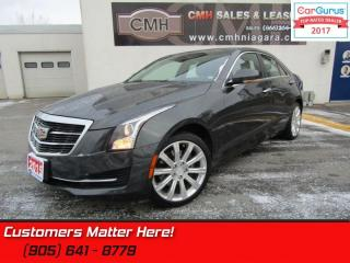 Used 2015 Cadillac ATS 2.0 Turbo Luxury  AWD, CUE, NAVIGATION, BLUETOOTH for sale in St Catharines, ON