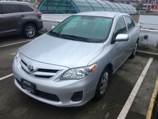 Used 2013 Toyota Corolla CE (A4) for sale in Vancouver, BC