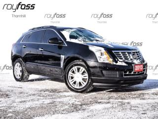 Used 2013 Cadillac SRX AWD 18 Alum Whls Bluetooth for sale in Thornhill, ON