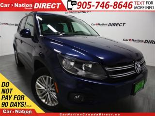 Used 2016 Volkswagen Tiguan Comfortline| AWD| BACK UP CAMERA| PUSH START| for sale in Burlington, ON