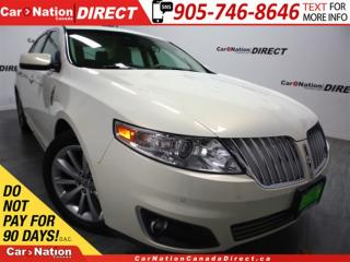 Used 2012 Lincoln MKS EcoBoost| AWD| NAVI| DUAL SUNROOF| LEATHER| for sale in Burlington, ON