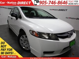 Used 2009 Honda Civic DX| ONLY 39,721 KM'S| ONE PRICE INTEGRITY| for sale in Burlington, ON