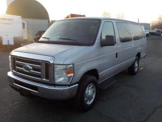 Used 2010 Ford Econoline E-350 XLT Super Duty Extended 15 Passenger Van for sale in Burnaby, BC