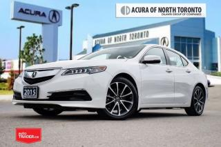 Used 2015 Acura TLX 3.5L P-AWS w/Tech Pkg Clean Carproof| Navigation|B for sale in Thornhill, ON