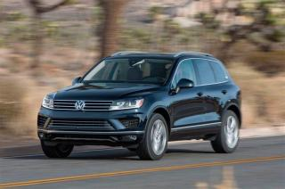Used 2015 Volkswagen Touareg Comfortline, Tech, V6, Local T for sale in Winnipeg, MB