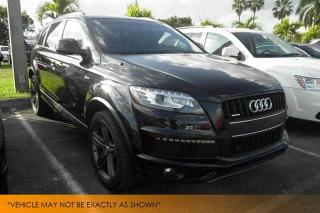 Used 2015 Audi Q7 3.0T, Vorsprung, 7-Pass, Black for sale in Winnipeg, MB