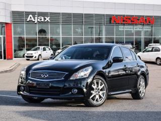 Used 2012 Infiniti G37 X Sedan AWD Sport AWD*Leather*Heated Seats for sale in Ajax, ON