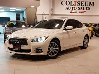Used 2014 Infiniti Q50 PREMIUM-AWD-NAVIGATION-LOADED-ONLY 81KM for sale in York, ON