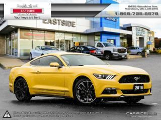 Used 2016 Ford Mustang - for sale in Markham, ON