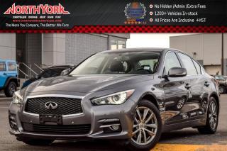 Used 2014 Infiniti Q50 Premium AWD|DeluxeTouringPkg|Sunroof|Nav|SurroundCam|17