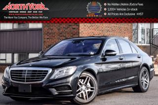 Used 2015 Mercedes-Benz S-Class S 550 4Matic Driver Asst.Pkg Pano_Sunroof BurmesterSurround for sale in Thornhill, ON