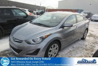 Used 2016 Hyundai Elantra GL AUTOMATIC! HEATED SEATS! BLUETOOTH! CRUISE CONTROL! POWER PACKAGE! KEYLESS ENTRY! for sale in Guelph, ON