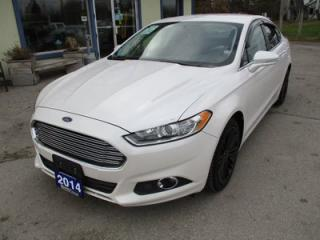 Used 2014 Ford Fusion LOADED SE MODEL 5 PASSENGER 2.0L - ECO-BOOST.. LEATHER.. HEATED SEATS.. NAVIGATION.. BACK-UP CAMERA.. BLUETOOTH SYSTEM.. for sale in Bradford, ON