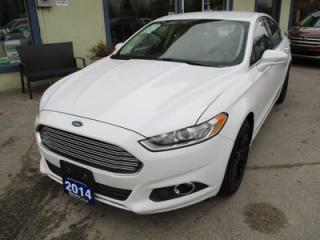 Used 2014 Ford Fusion POWER EQUIPPED SE MODEL 5 PASSENGER 1.5L - DOHC.. LEATHER.. HEATED SEATS.. FACTORY WARRANTY.. BLUETOOTH SYSTEM.. SYNC TECHNOLOGY.. for sale in Bradford, ON