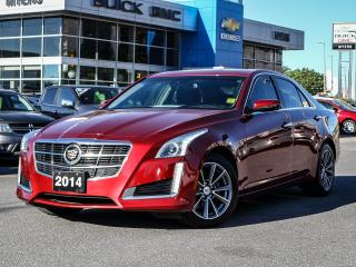 Used 2014 Cadillac CTS LUXURY PKG, NAV, SUNROOF, AWD 3.6 V6 for sale in Ottawa, ON