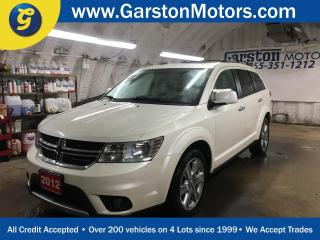 Used 2012 Dodge Journey R/T*AWD*NAVIGATION*POWER SUNROOF*U CONNECT PHONE*WHITE LEATHER*ALPINE AUDIO*BACK UP CAMERA*DUAL ZONE CLIMATE CONTROL*CRUISE CONTROL*PUSH BUTTON START* for sale in Cambridge, ON