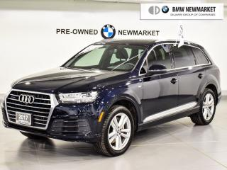 Used 2017 Audi Q7 3.0T Technik quattro 8sp Tiptronic for sale in Newmarket, ON