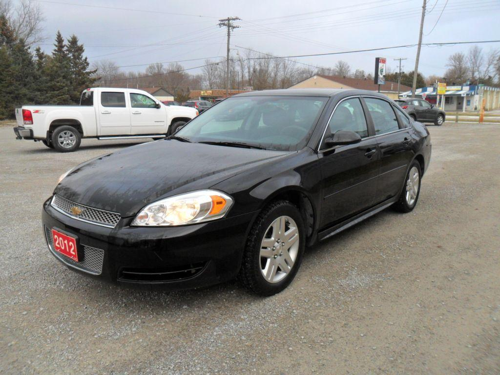 Impala 2012 chevrolet impala lt : Used 2012 Chevrolet Impala LT for Sale in Beaverton, Ontario ...