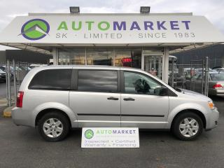 Used 2009 Dodge Grand Caravan SE, YOU WORK, YOU DRIVE! FINANCE IT! for sale in Langley, BC