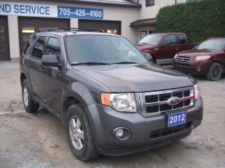 Used 2012 Ford Escape XLT for sale in Beaverton, ON