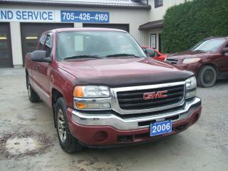 Used 2006 GMC Sierra 1500 LS, 4x4, Ext.Cab for sale in Beaverton, ON