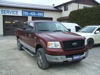 Used 2005 Ford F-150 XLT, 4x4, Ext. Cab for sale in Beaverton, ON