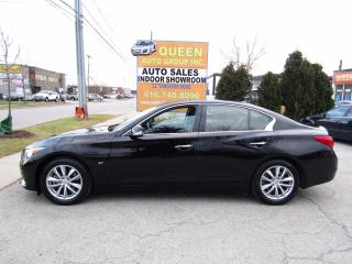 Used 2014 Infiniti Q50 Navigation   Bose Audio   Lane Watch   Leather for sale in North York, ON