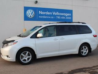 Used 2015 Toyota Sienna LIMITED 7 PASSENGER for sale in Edmonton, AB