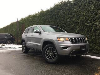 Used 2017 Jeep Grand Cherokee Limited 4x4 + LEATHER HEATED FT/RR SEATS + SUNROOF + UCONNECT 5.0 + REAR PARK ASSIST + NO EXTRA DEALER FEES for sale in Surrey, BC