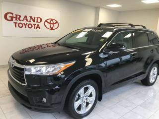 Used 2015 Toyota Highlander LIMITED  for sale in Grand Falls-windsor, NL
