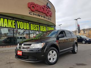 Used 2015 Dodge Journey Canada Value Pkg BLUETOOTH, TINTED WINDOWS ALLOYS for sale in Scarborough, ON
