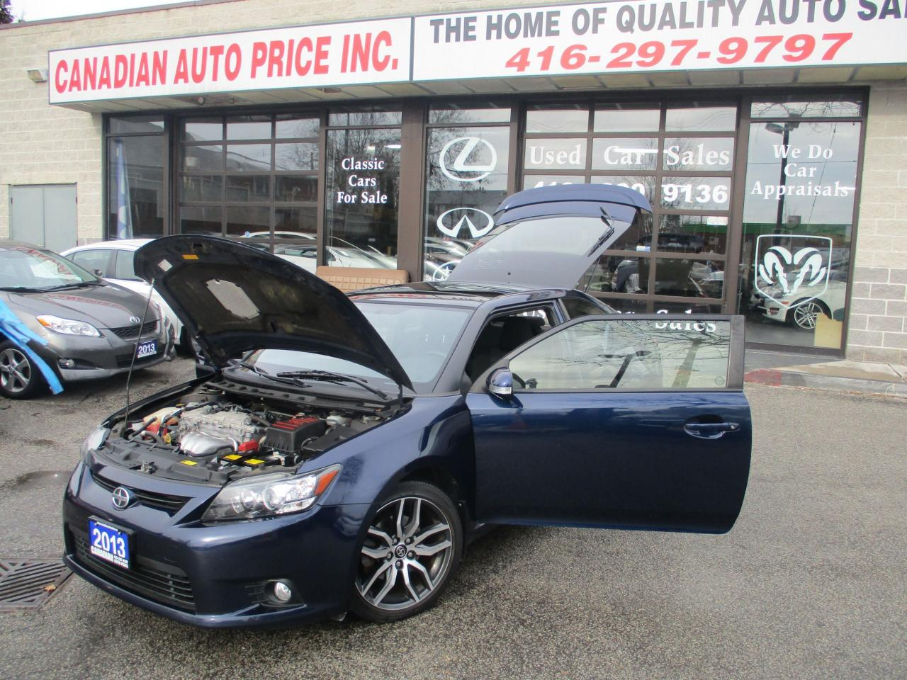 Used 2013 scion tc sun roof spoiler alloys for sale in for Sun motor cars used inventory