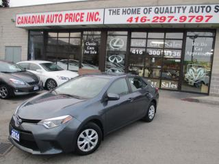 Used 2014 Toyota Corolla CE for sale in Scarborough, ON