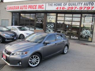 Used 2012 Lexus CT 200h PRM-PKG-ONE-OWNER-CLEAN for sale in Scarborough, ON