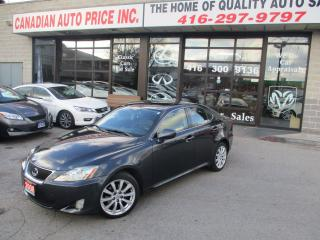 Used 2008 Lexus IS 250 AWD-PRM-PKG-LOADED for sale in Scarborough, ON