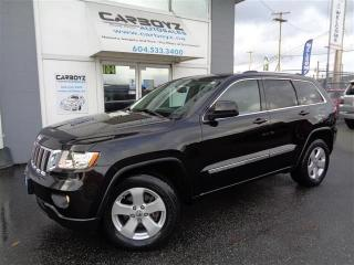 Used 2013 Jeep Grand Cherokee Laredo 4x4, Nav, Leather, Trailer Tow, Camera for sale in Langley, BC