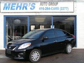 Used 2012 Nissan Versa 1.6 SV Sedan Loaded Bluetooth for sale in Scarborough, ON