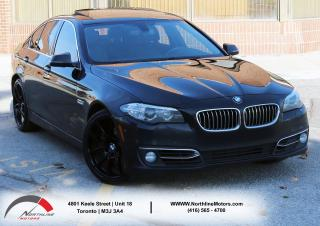 Used 2014 BMW 5 Series 528i xDrive | Navigation|Sunroof|360 Camera for sale in North York, ON
