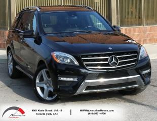 Used 2013 Mercedes-Benz ML 550 ML 550 |AMG| Brown Interior|Navigation|Pano Roof for sale in North York, ON