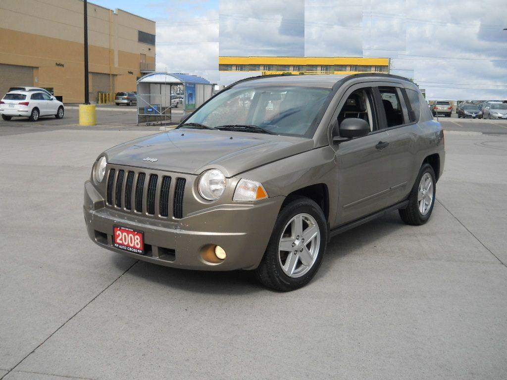 used 2008 jeep compass 4x4 auto only 142000 3 y warranty available for sale in north york. Black Bedroom Furniture Sets. Home Design Ideas